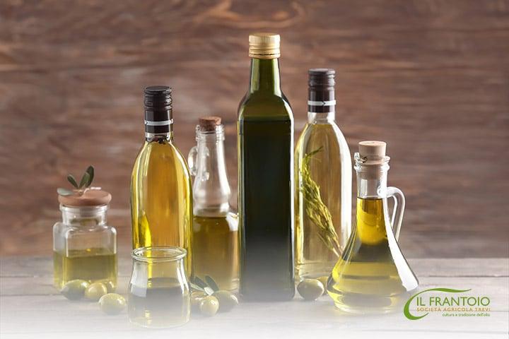 contenitori olio